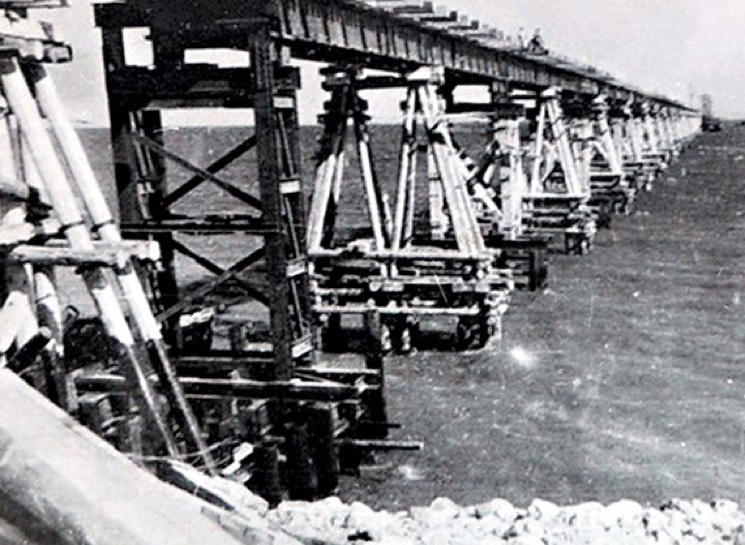 Image result for kerch bridge 1944 images