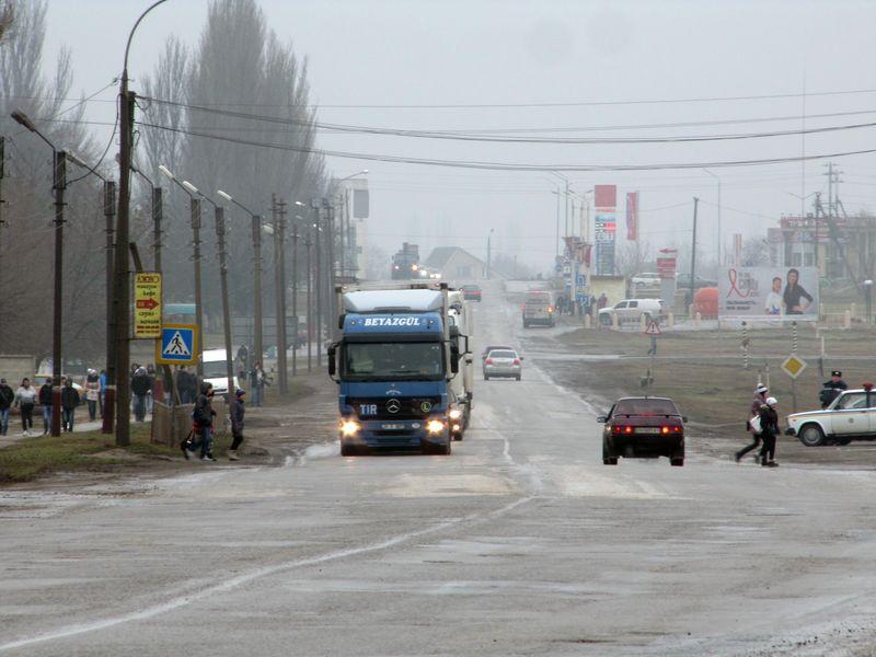 Трасса на Симферополь