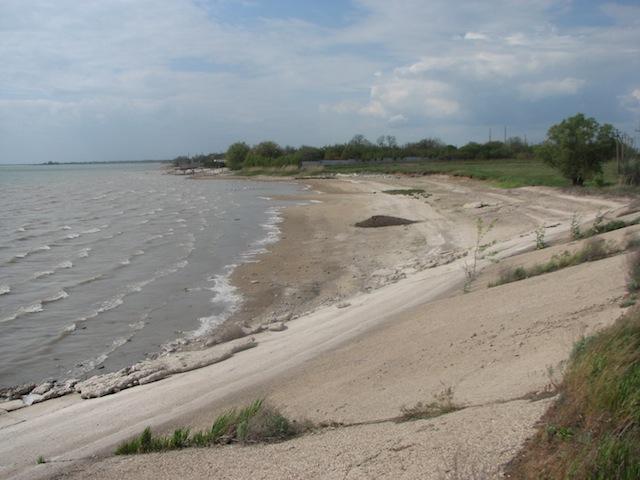 Водохранилище для производственных нужд Крымского Титана