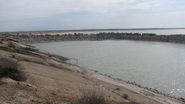 Водозаборный участок заводского водохранилища