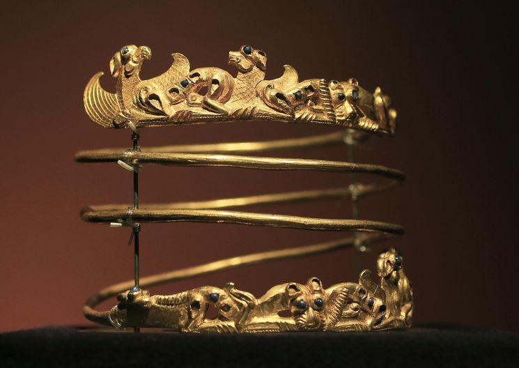 Античное скифское золото Крыма
