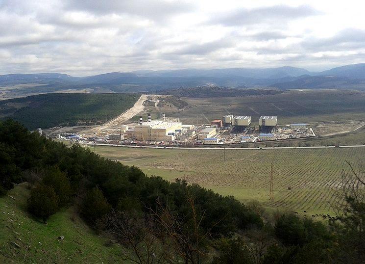 Запущена Балаклавская ТЭС в Крыму
