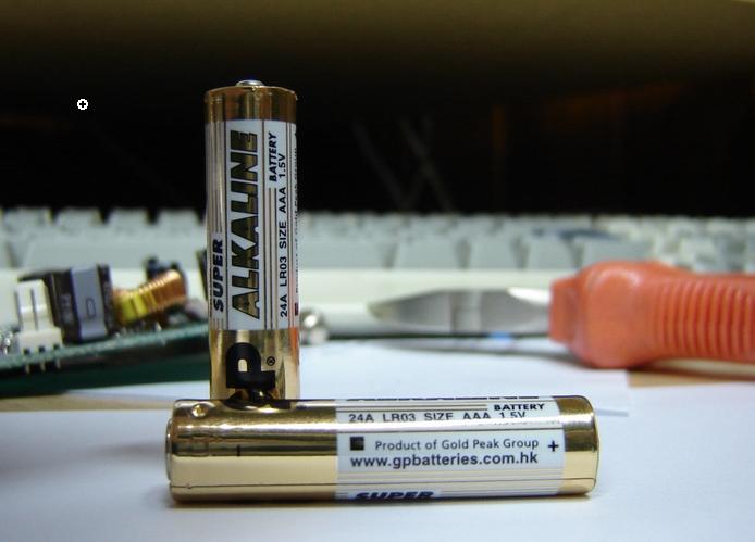 Батарейки формфактора AAA