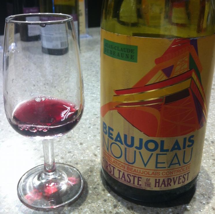 Beaujolais Nouveau - праздник молодого вина