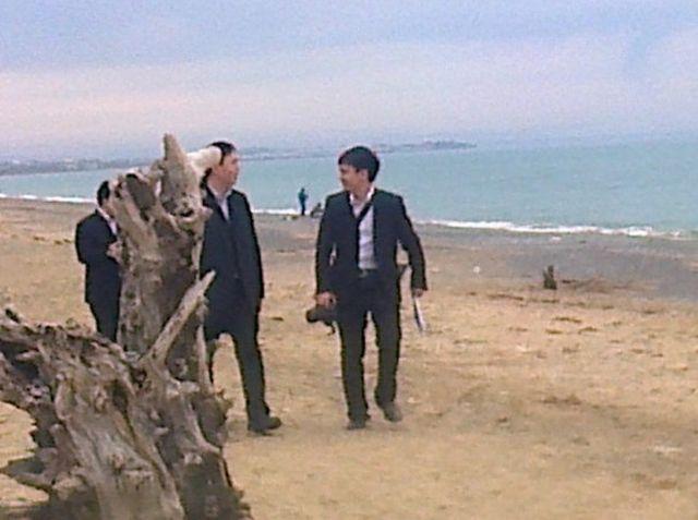 Китайская делегация на западе Крыма