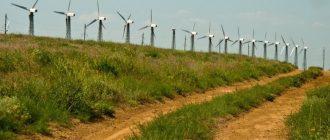 Ветрянные электростанции в Крыму