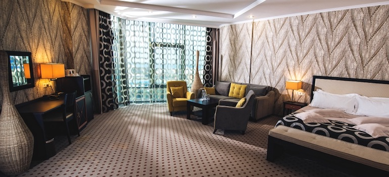 Дизайнерский полулюкс отеля Аквамарин