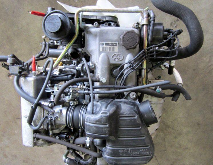 Контрактный двигатель Тойота из Японии