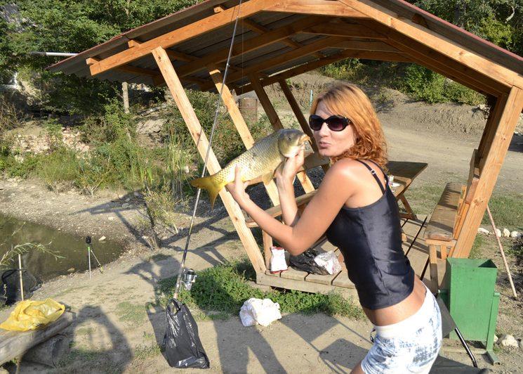 Крымская рыбалка в Голубинке