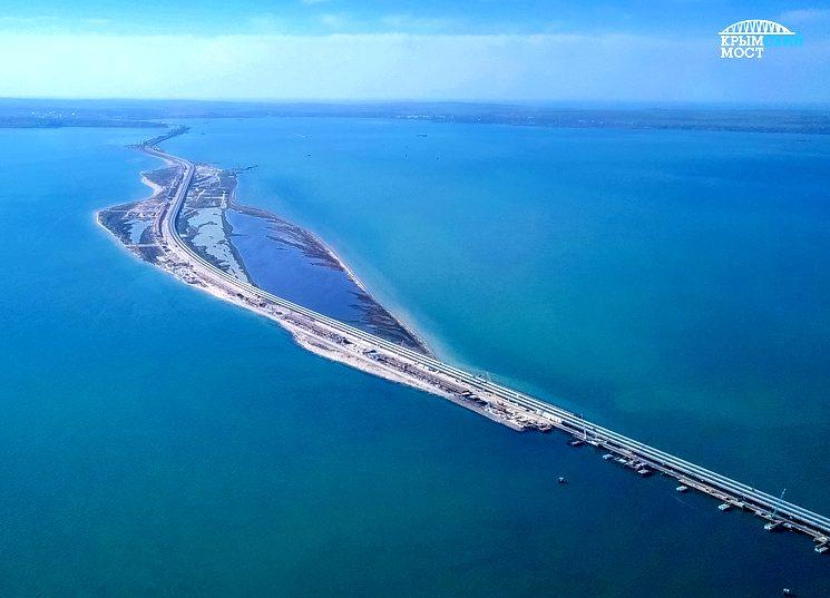 Крымский мост - самый длинный в Европе