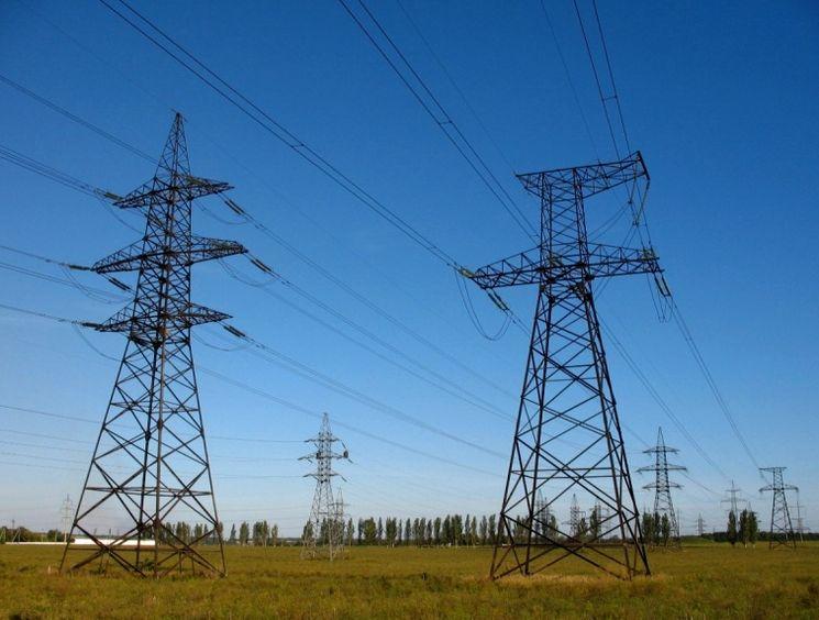 Подача электроэнергии с Украины в Крым