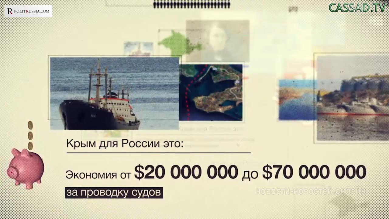 Что даёт Крым России?