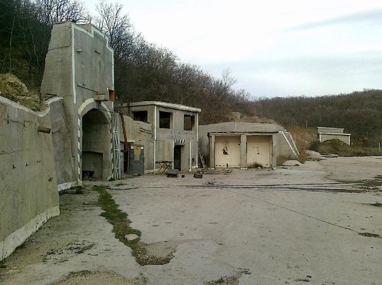 Секретный объект №100 в Крыму