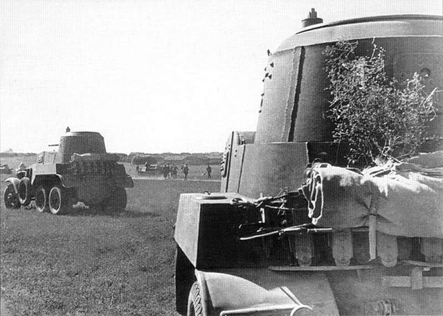 Средние бронеавтомобили БА-10 Крым, сентябрь 1941