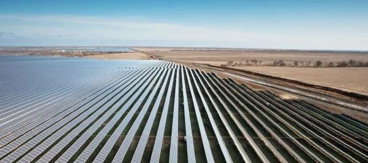 Солнечная электростанция в Перово