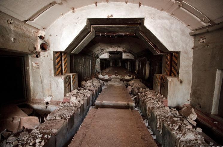 Ракетная база Сотка в Крымских горах