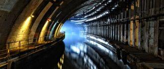 Подземный завод по ремонту подводных лодок в Крыму