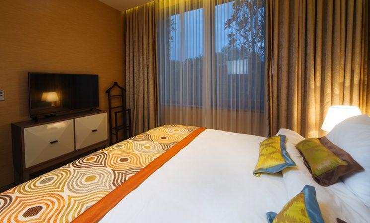 Семейная вилла отеля Mriya Resort & SPA (фото спальни)