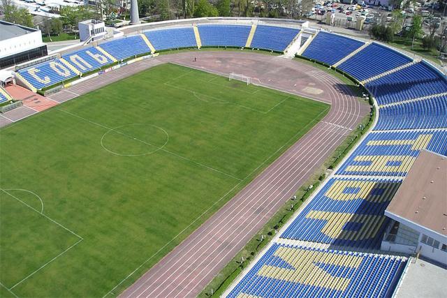 Симферополь, стадион Локомотив