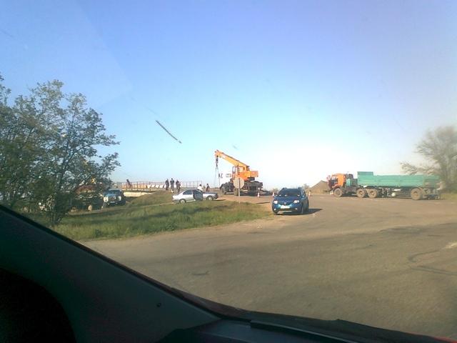Украина строит дамбу на Северо Крымском канале
