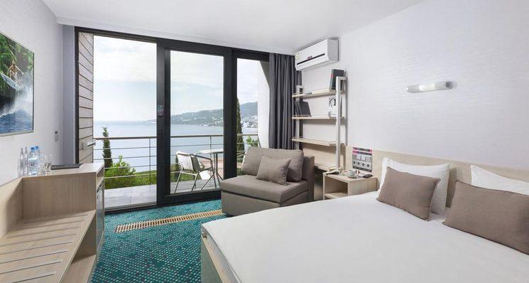 Улучшенный стандартный двухместный номер с 1 кроватью - территория Green Park