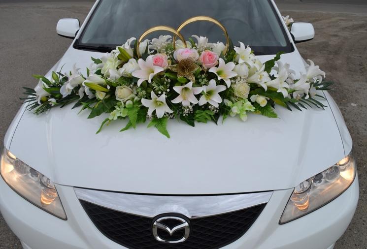 Свадебное оформление машины