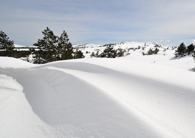 Зима в Крымских горах