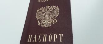 Заявление о выдаче паспорта РФ